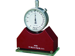 Screen printing mesh tension meter